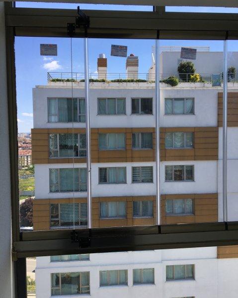 Tepeören Mahallesi Cam Balkon